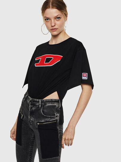 Diesel - T-JACKY-I, Black - T-Shirts - Image 3