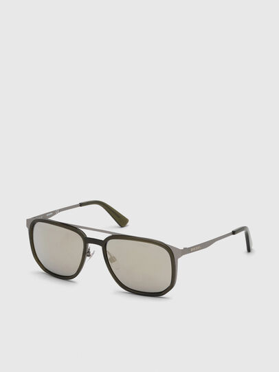 Diesel - DL0294, Olive Green - Sunglasses - Image 2