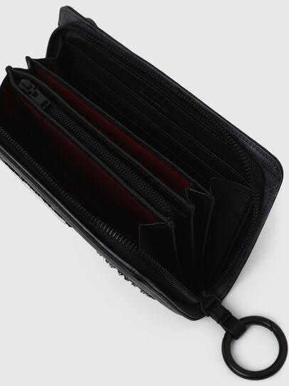 Diesel - GRANATINO, Blue - Zip-Round Wallets - Image 7