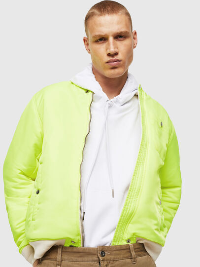 Diesel - J-ROSS-REV, White - Jackets - Image 5