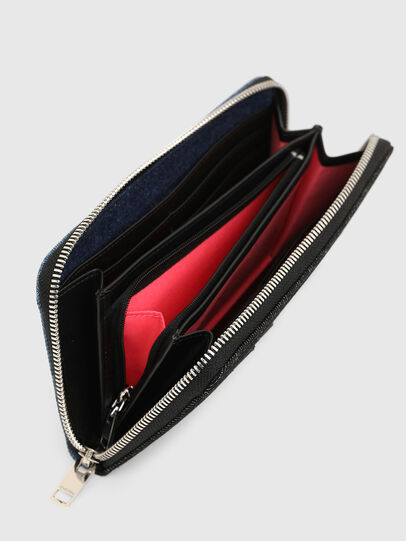 Diesel - GRANATO LC, Blue/Black - Zip-Round Wallets - Image 3