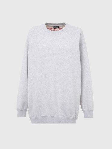Sweatshirt with Brave embroidery