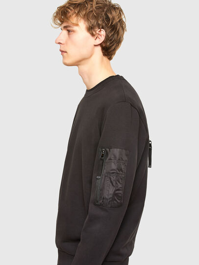 Diesel - S-IRIDIO, Black - Sweaters - Image 4