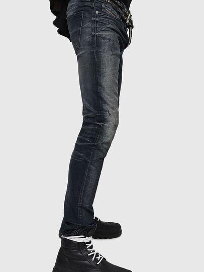 Diesel - Sleenker 0870J, Black/Dark grey - Jeans - Image 3