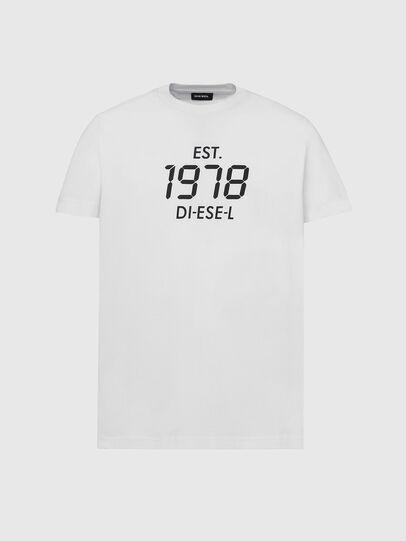Diesel - T-DIEGOS-X42, White - T-Shirts - Image 1