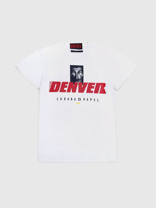 LCP-T-DIEGO-DENVER, White - T-Shirts