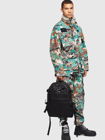 Diesel - F- URBHANITY BACK, Blue/Black - Backpacks - Image 6