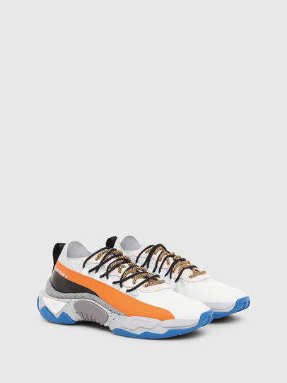 Diesel - S-KIPPER BAND, White/Orange - Sneakers - Image 2