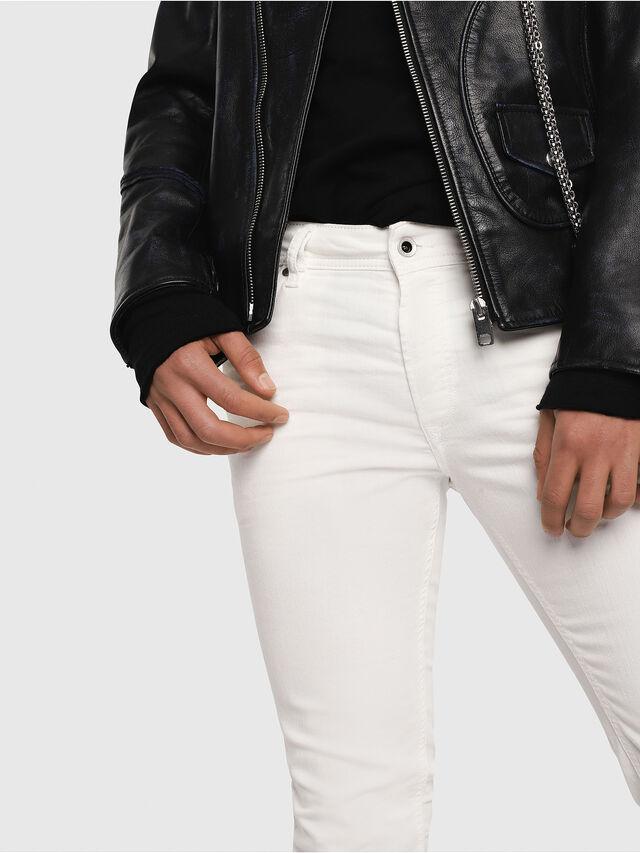02345e54 Diesel - Sleenker 084CY, White - Jeans - Image 3
