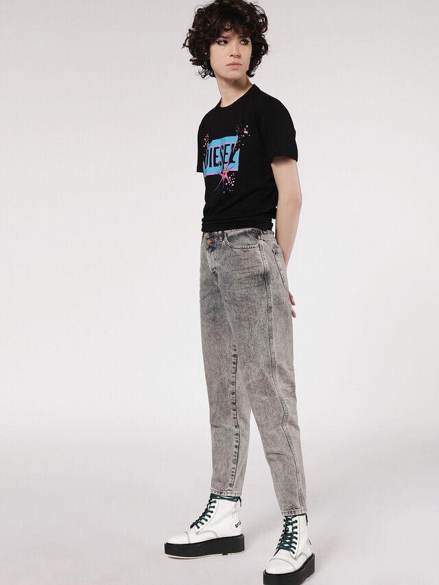 Diesel - T-EXPLO, Black - T-Shirts - Image 4