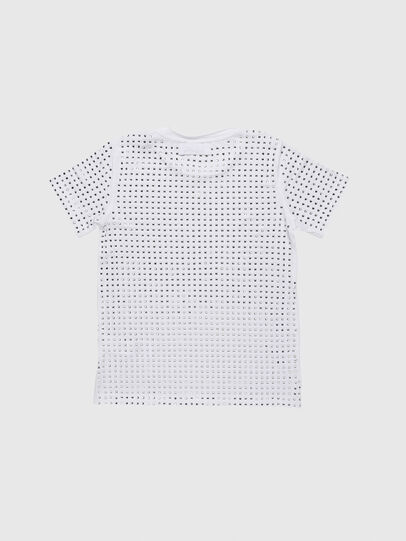 Diesel - TJRATY, White - T-shirts and Tops - Image 2
