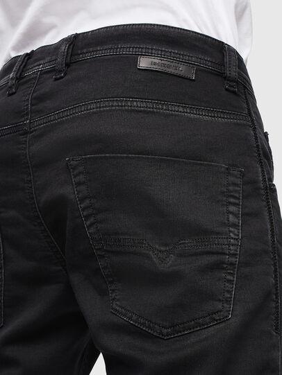 Diesel - Krooley JoggJeans 0687Z, Black/Dark grey - Jeans - Image 4