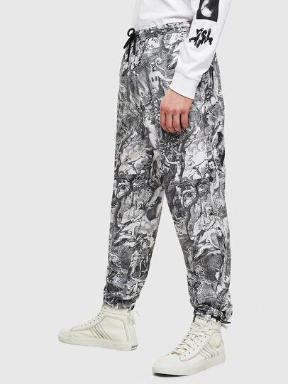 Diesel - P-TOLL-KAOS, Black/White - Pants - Image 4