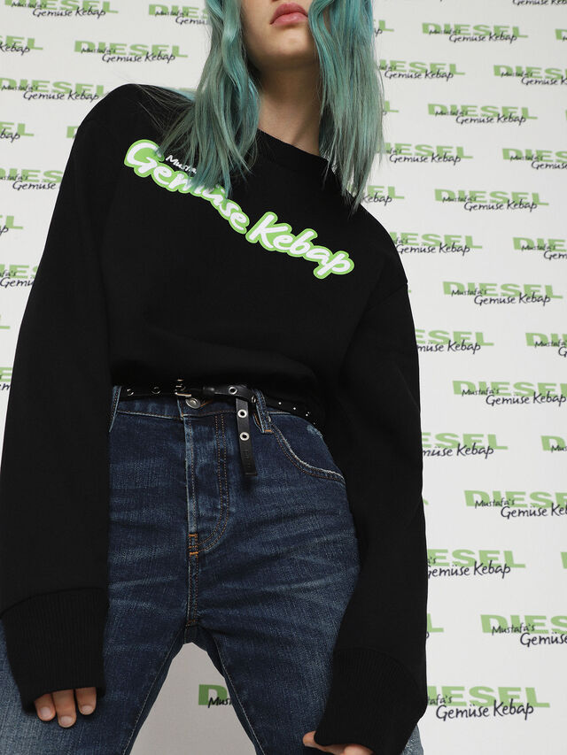 Diesel - MU-FESTA-FL, Black - Sweaters - Image 6