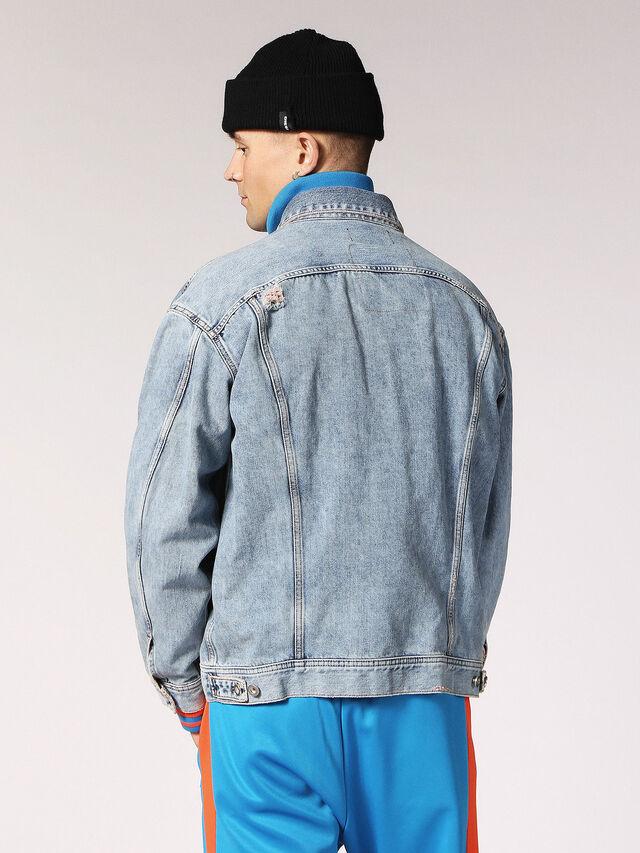 Diesel - D-WANO, Light Blue - Denim Jackets - Image 2