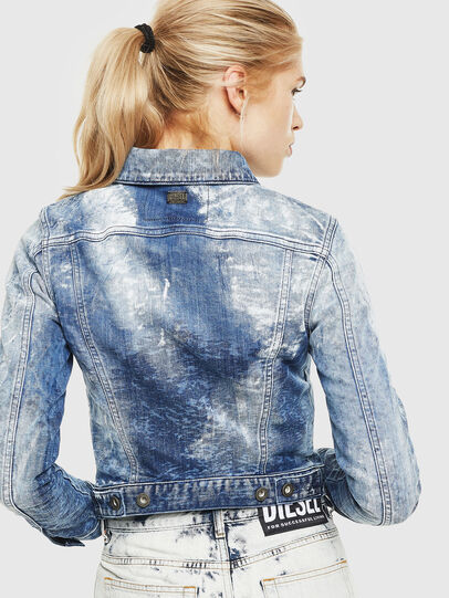 Diesel - D-LIMMY-T, Medium blue - Denim Jackets - Image 2