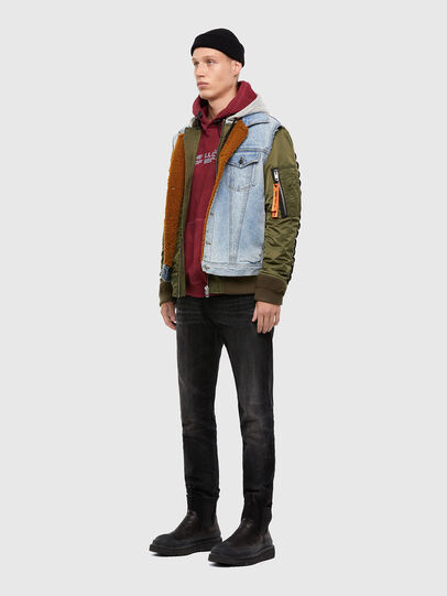 Diesel - W-STORMY, Blue/Green - Winter Jackets - Image 7