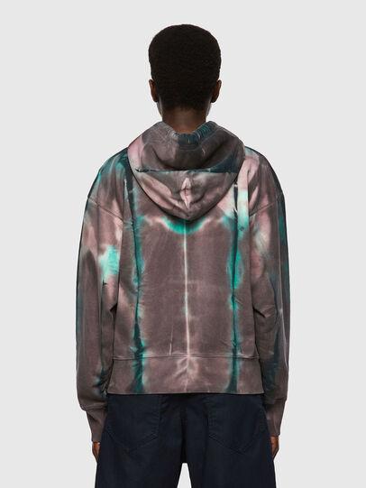 Diesel - F-LYM-HOOD, Dark Violet - Sweaters - Image 2