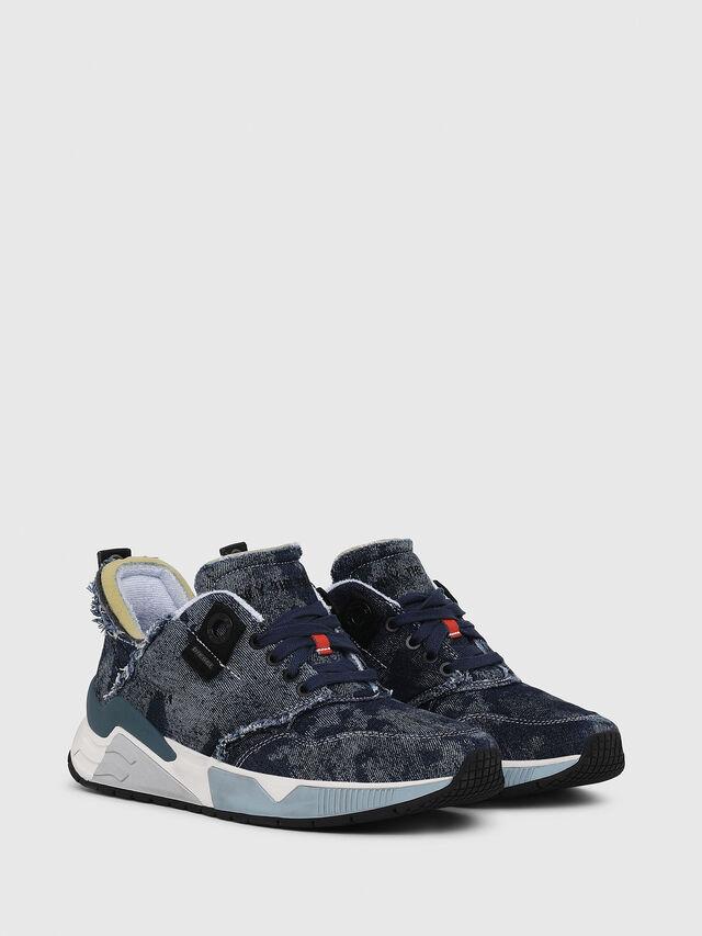 Diesel - S-BRENTHA LC, Blue Jeans - Sneakers - Image 2