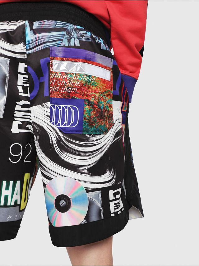 Diesel - P-KUMI-PRINT, Multicolor/Black - Shorts - Image 4