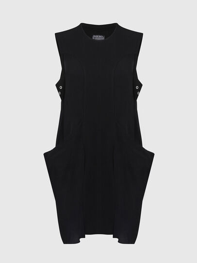 Diesel - D-EVEN-A, Black - Dresses - Image 1
