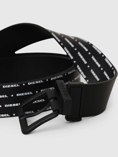 Diesel - B-DOUCKLE, Black - Belts - Image 2