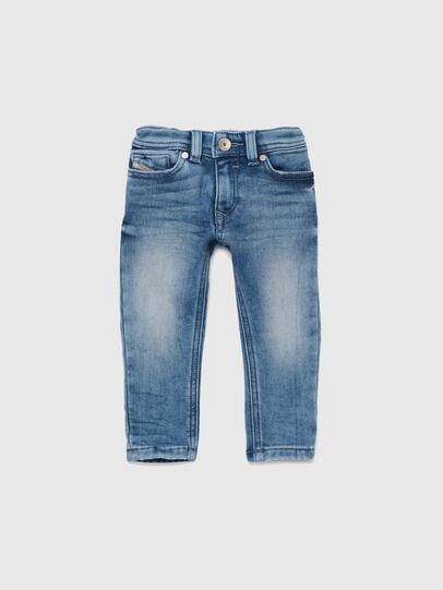 Diesel - SLEENKER-B JOGGJEANS-N, Medium blue - Jeans - Image 1