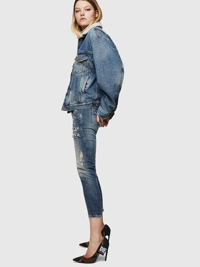 Diesel - Fayza JoggJeans 0890A, Light Blue - Jeans - Image 3