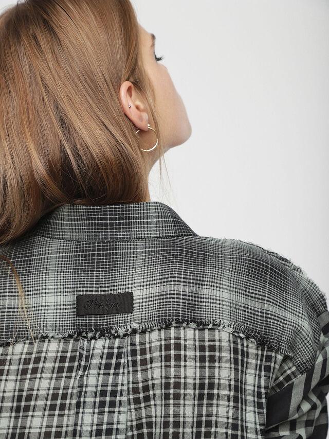 Diesel - D-BAGGY, Gray/Black - Dresses - Image 4