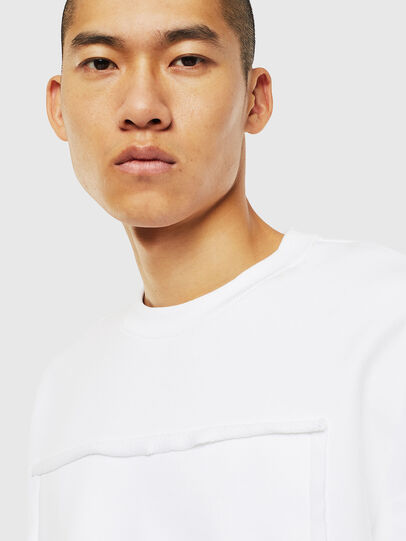 Diesel - S-BAY-RAW, White - Sweaters - Image 3