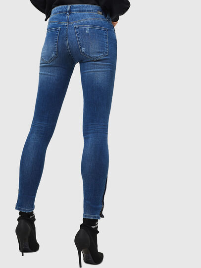 Diesel - Slandy Zip 089AI, Medium blue - Jeans - Image 2