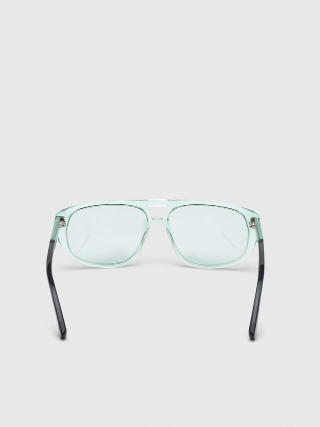 Diesel - DL0300, Light Blue - Sunglasses - Image 4