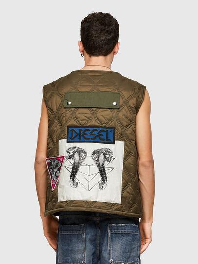 Diesel - J-LUKI, Olive Green - Jackets - Image 2