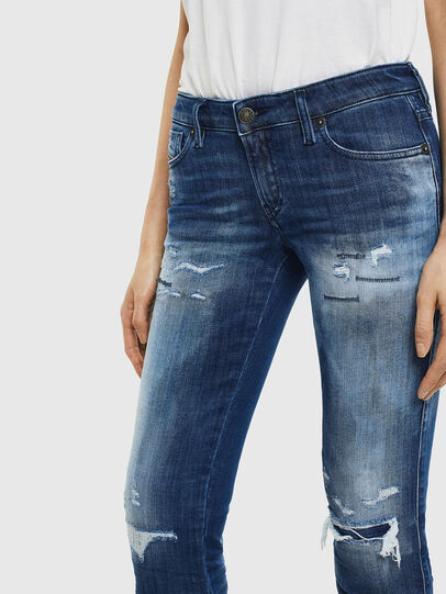 Diesel - Gracey JoggJeans 0099S, Dark Blue - Jeans - Image 4