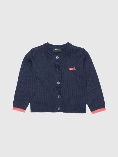 Diesel - KOGYB, Blue/Red - Knitwear - Image 1