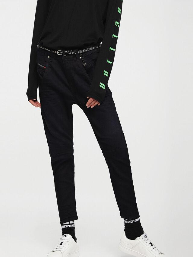 Diesel Fayza JoggJeans 0829P, Dark Blue - Jeans - Image 1