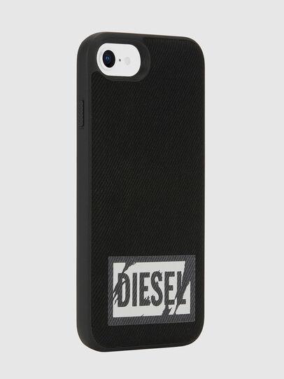 Diesel - BLACK DENIM IPHONE 8/7/6S/6 CASE, Black - Cases - Image 5