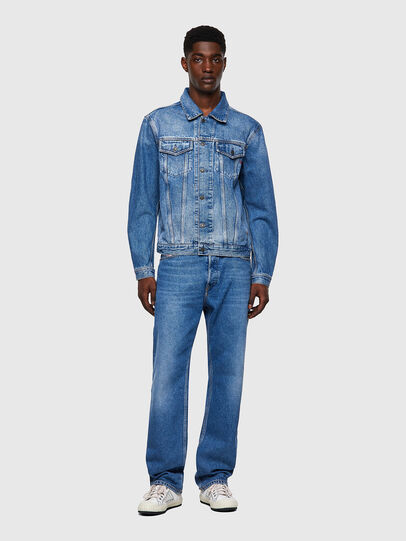 Diesel - D-SAL, Light Blue - Denim Jackets - Image 4