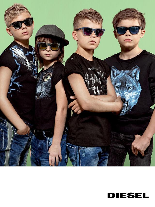 Diesel - DM0200, Black Jeans - Kid Eyewear - Image 5