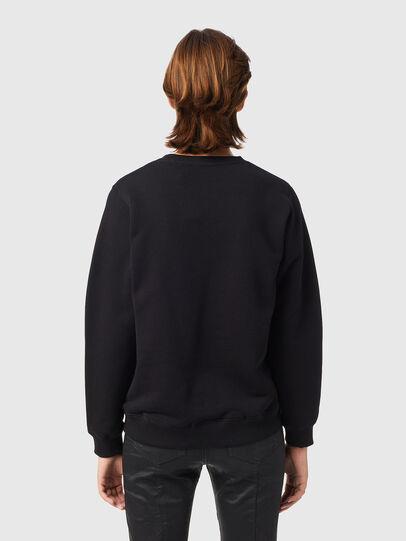 Diesel - F-ANGS-B3, Black - Sweaters - Image 2