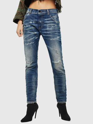Krailey JoggJeans 0870Q, Medium blue - Jeans