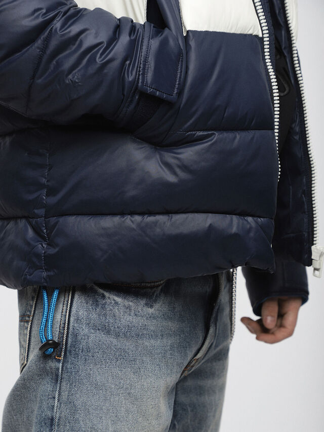 Diesel - W-SMITH-WH, Blue - Winter Jackets - Image 3