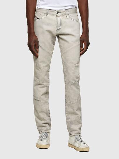 Diesel - D-Kras 009ZC, Light Grey - Jeans - Image 1