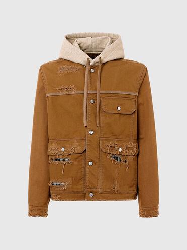 Destroyed workwear jacket