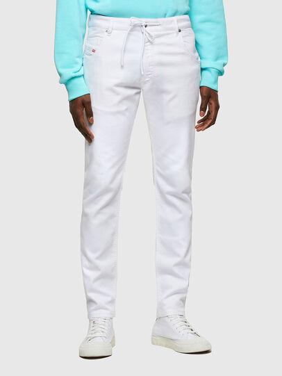Diesel - Krooley JoggJeans® 0684U, White - Jeans - Image 1