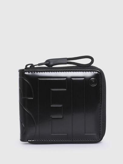 Diesel - ZIPPY HIRESH S II, Black - Small Wallets - Image 1