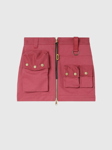 Skirt with utility pockets