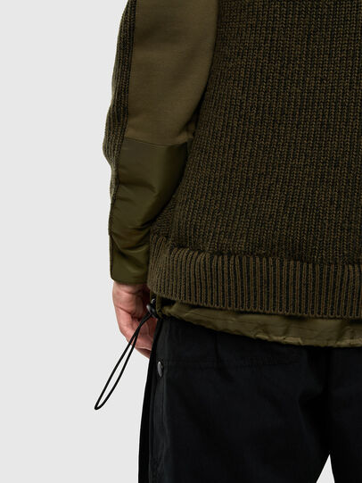Diesel - K-THOMPSON, Olive Green - Jackets - Image 5