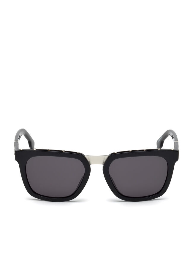 Diesel - DL0212, Black - Sunglasses - Image 1