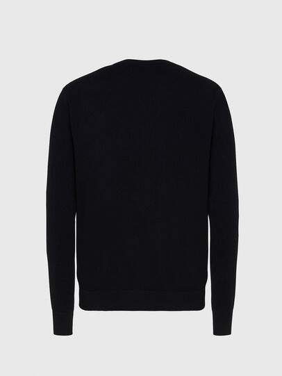 Diesel - K-FREEX-B, Black - Knitwear - Image 2